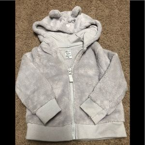 EUC Fleece Zip Up hoodie